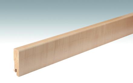 MEISTER Sockelleisten Fußleisten Ahorn kanadisch 027 - 2380 x 60 x 16 mm
