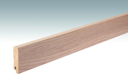 MEISTER Sockelleisten Fußleisten Eiche weiß Nature 1087 - 2380 x 60 x 16 mm