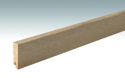 MEISTER Sockelleisten Fußleisten Eiche greige 1215 - 2380 x 60 x 16 mm