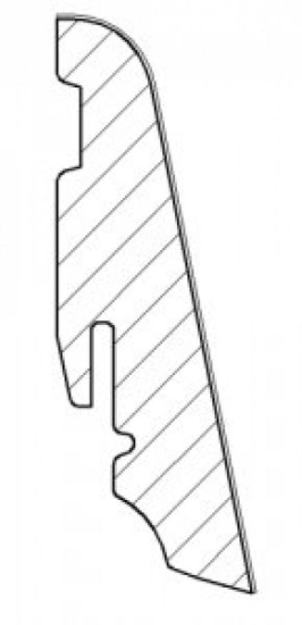 Haro Sockelleisten Pinie nordica 19 x 58 mm