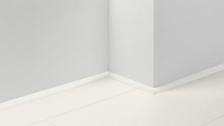 Parador Sockelleisten Viertelstab - 14x20x2200 mm - Uni Weiss Dekor D001