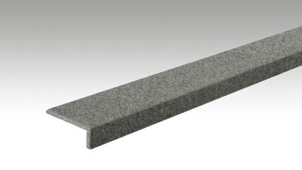 planeo Winkelabdeckleiste 2000 x 22 x 60 mm 4502 Filz basaltgrau