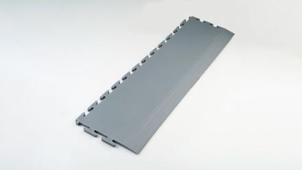 Zubehör für Industrie- und Gewerbeböden Rampe gefast grau