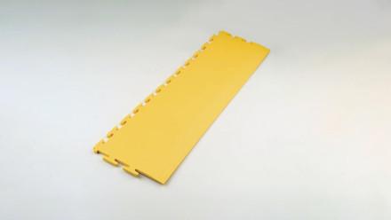 Zubehör für Industrie- und Gewerbeböden Rampe gefast gelb