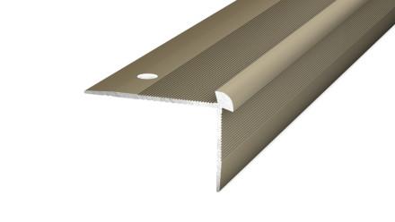 Prinz Treppenkantenprofil Edelstahl matt bis 5 mm