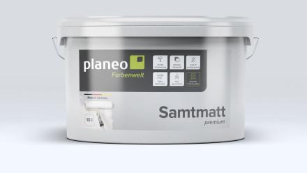 Planeo Samtmatt Premium 10L - medium gloss
