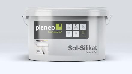 Planeo Sol-Silikat-Innenfarbe 10L - stumpfmatt