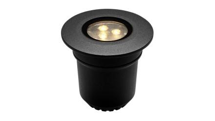 planeo Gartenbeleuchtung 12V - LED-Einbauleuchte- 3W 313 Lumen