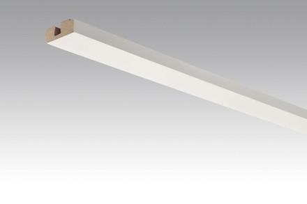 MEISTER Sockelleisten Deckenabschlussleisten Weiß 4038 - 2380 x 40 x 15 mm