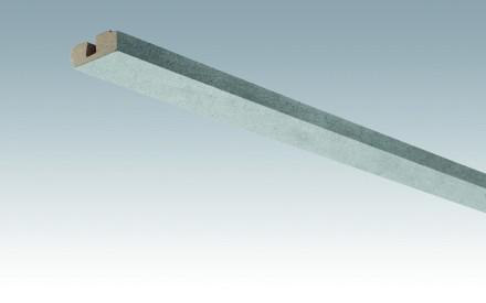 MEISTER Sockelleisten Deckenabschlussleisten Beton 4045 - 2380 x 40 x 15 mm