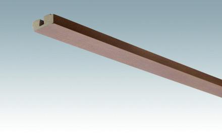 MEISTER Sockelleisten Deckenabschlussleisten Rost-Metallic 4077 - 2380 x 40 x 15 mm