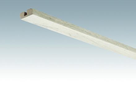 MEISTER Sockelleisten Deckenabschlussleisten Eiche rustikal cremegrau 4082 - 2380 x 40 x 15 mm