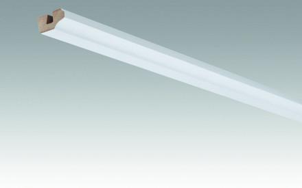 MEISTER Sockelleisten Deckenabschlussleisten Weiß streichfähig DF 2222 - 2380 x 38 x 19 mm