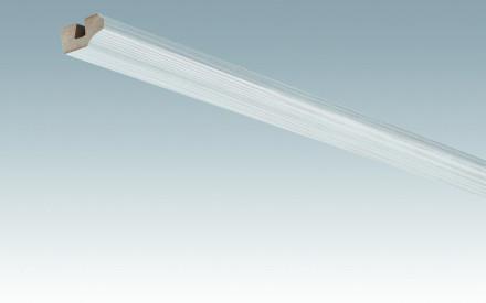 MEISTER Sockelleisten Deckenabschlussleisten Pinie weiß 4005 - 2380 x 38 x 19 mm