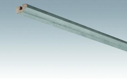 MEISTER Sockelleisten Deckenabschlussleisten Beton 4045 - 2380 x 38 x 19 mm