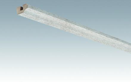 MEISTER Sockelleisten Deckenabschlussleisten Eiche vintage weiß 4075 - 2380 x 38 x 19 mm