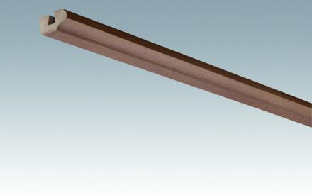 MEISTER Sockelleisten Deckenabschlussleisten Rost-Metallic 4077 - 2380 x 38 x 19 mm