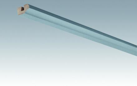 MEISTER Sockelleisten Deckenabschlussleisten Edelstahl-Metallic 4079 - 2380 x 38 x 19 mm