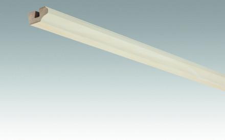 MEISTER Sockelleisten Deckenabschlussleisten Lightwood 4096 - 2380 x 38 x 19 mm