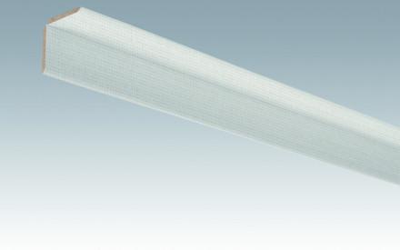 MEISTER Sockelleisten Faltenleisten Edelstahl DF 063 - 2380 x 70 x 3,5 mm