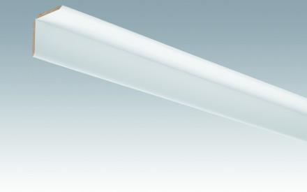 MEISTER Sockelleisten Faltenleisten Uni weiß glänzend DF 324 - 2380 x 70 x 3,5 mm