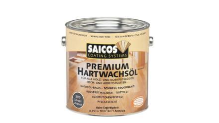 Saicos PREMIUM Hartwachsöl Schwarz deckend ultramatt 0,75l