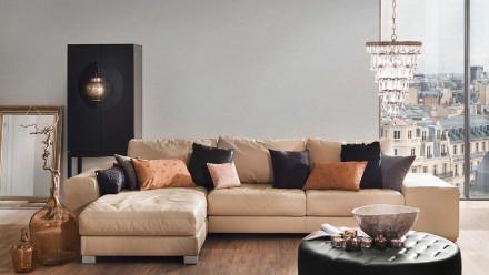 Vinyltapete Strukturtapete grau Retro Klassisch Uni Elegance 5th Avenue 874