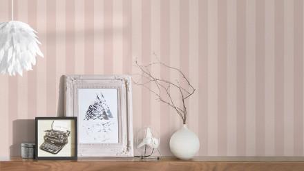 Vinyltapete rosa Modern Streifen Styleguide Klassisch 2021 150
