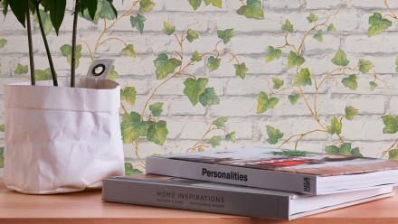 Vinyltapete Steintapete grün Modern Steine Blumen & Natur Elements 421