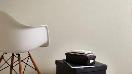 Vinyltapete creme Modern Uni Greenery 622