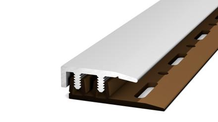 Prinz Abschlussprofil Profi-Design silber 100 cm