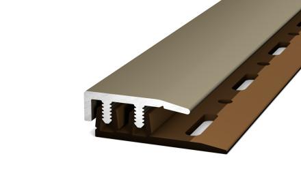 Prinz Abschlussprofil Profi-Design Edelstahl matt 100 cm