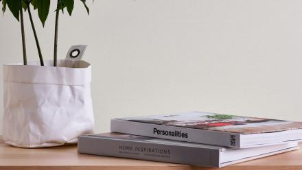 Vinyltapete weiß Modern Klassisch Uni Styleguide Trend Colours 2021 701