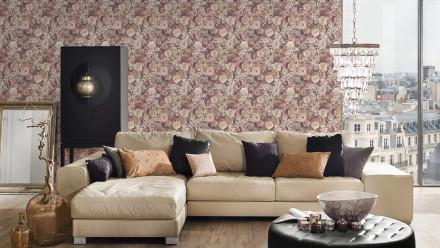 Vinyltapete rosa Retro Blumen & Natur Styleguide Jung 2021 222