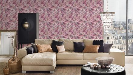Vinyltapete rosa Retro Blumen & Natur Styleguide Jung 2021 224