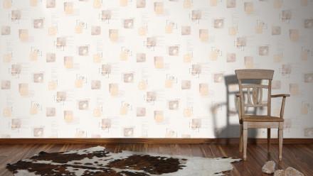 Vinyltapete beige Retro Bilder Kinder Il Decoro 331