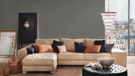 Vinyltapete Strukturtapete grau Modern Klassisch Uni Sumatra 834