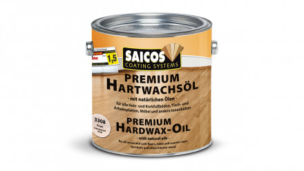 SAICOS Premium Hartwachsöl Frost 0,75l