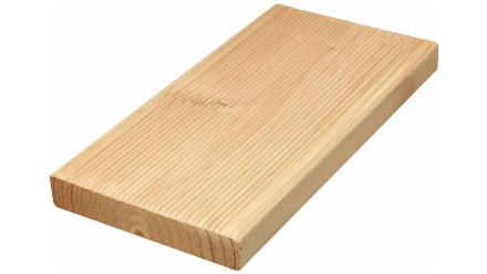 TerraWood Holzterrasse - DOUGLASIE heimisch 26 x 143mm beidseitig gerillt