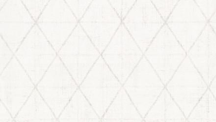 Vliestapete weiß Retro Streifen Ornamente Black & White 377