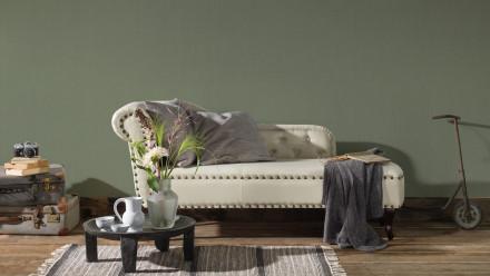 Vinyltapete grün Modern Uni Hermitage 10 763
