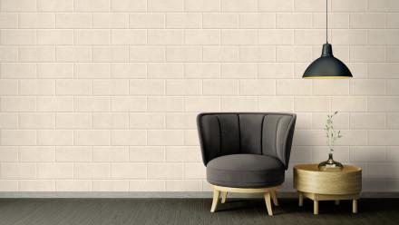 Vinyltapete Steintapete beige Modern Klassisch Steine Versace 3 221