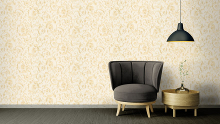 Vinyltapete Steintapete orange Modern Klassisch Steine Versace 3 261