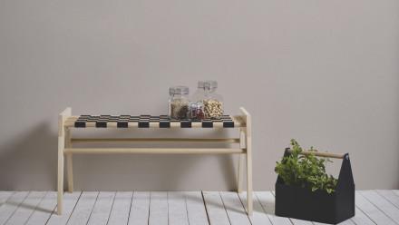 Vinyltapete beige Klassisch Uni Styleguide Natural Colours 2021 912
