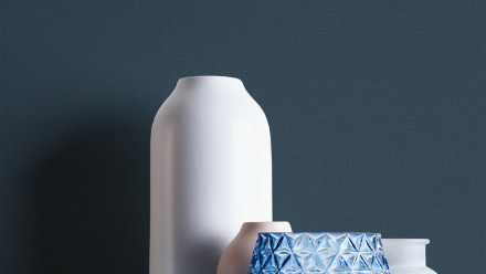 Vinyltapete blau Klassisch Uni Styleguide Trend Colours 2021 254