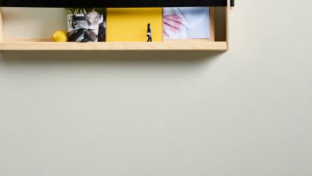 Vinyltapete Strukturtapete weiß Modern Uni Designdschungel 2 by Laura N. 237