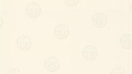 Vinyltapete weiß Vintage Uni Bilder Versace 3 621
