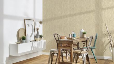 Vinyltapete Strukturtapete gelb Klassisch Streifen Uni Styleguide Trend Colours 2021 265