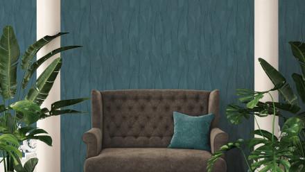 Vinyltapete blau Modern Landhaus Blumen & Natur Exotic Life 974