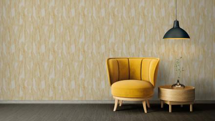 Vinyltapete gelb Modern Landhaus Blumen & Natur Exotic Life 975